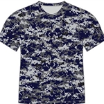 Pittsford Panthers Baseball Adult Navy Camo T-Shirt