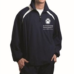 Pittsford Panthers Baseball Adult Navy Half Zip Jacket