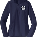 Mercy Softball Ladies Stretch 1/2 Zip Pullover