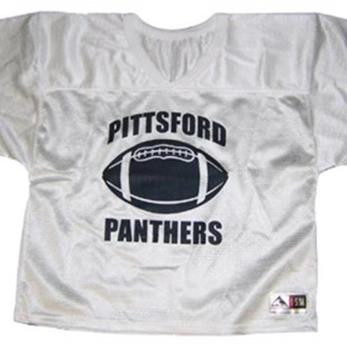 Pittsford Panthers Football Adult White Practice Jersey